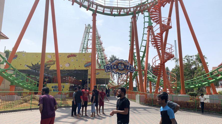 【DAY45・インド】インド最大の遊園地「WONDERLA(ワンダーラ)」行ってきた!