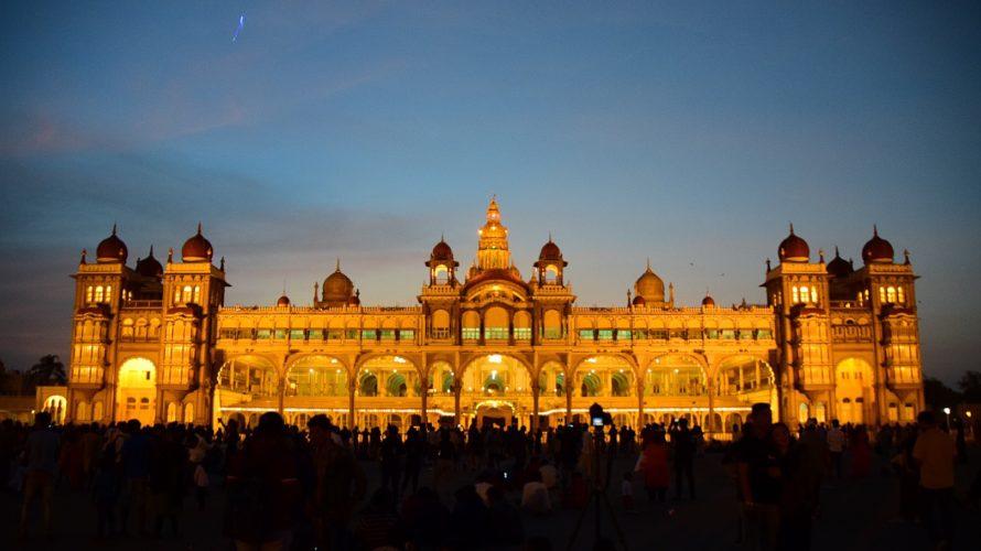 【DAY46・インド】バンガロールからマイソールへ&マイソール宮殿のライトアップを鑑賞