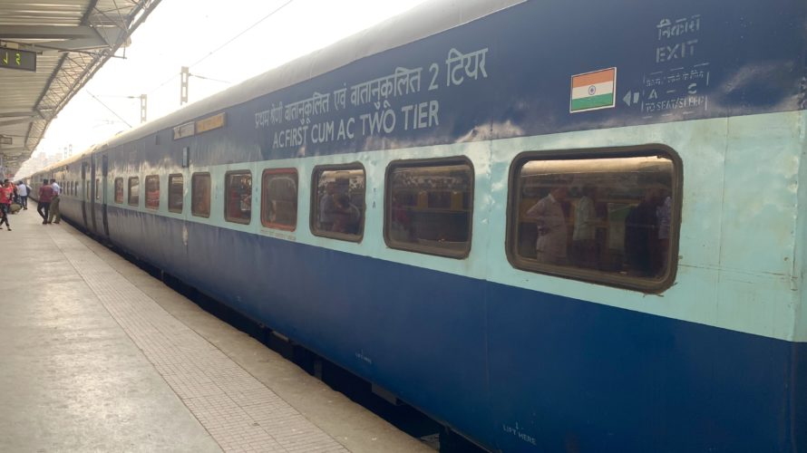 【DAY55・インド】寝台列車1等!ムンバイからジョードプルへ