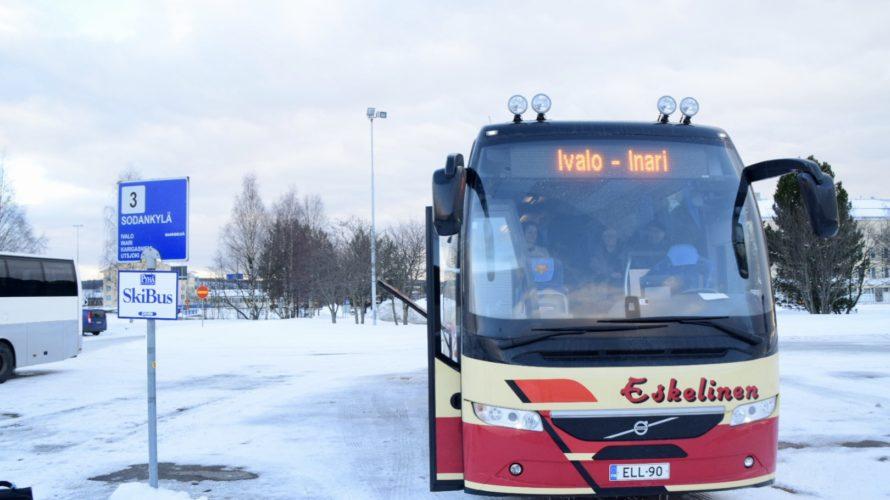 【DAY91・フィンランド】オーロラを求めてバスでロヴァニエミからイナリへ!ホテル イナリに宿泊!