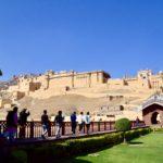 【DAY65・インド】アンベール城までローカルバスで!ジャイプール観光2日目