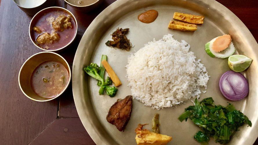 【DAY70・ネパール】雨の日ポカラ!北欧に向けて買い物第一弾!夜ご飯はダルバート!