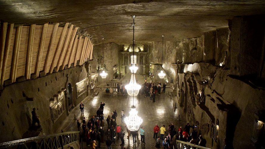 【DAY108・ポーランド】地下300mの塩の洞窟 世界遺産ヴィエリチカ岩塩坑へ