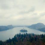 【DAY115・スロベニア】ブレッド湖でおにぎりもぐもぐ