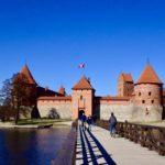 【DAY104・リトアニア】湖に浮かぶ城!?トラカイ城へ!