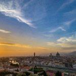 【DAY126・イタリア】フィレンツェのミケランジェロ広場からの夕日は最高