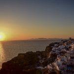 【DAY135・ギリシャ】サントリーニ島 イアで夕日鑑賞