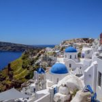 【DAY134・ギリシャ】サントリーニ島!青と白の美しい街!!