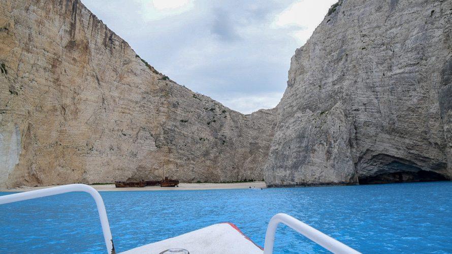 【DAY141・ギリシャ】フェリーでナヴァイオビーチへ!!