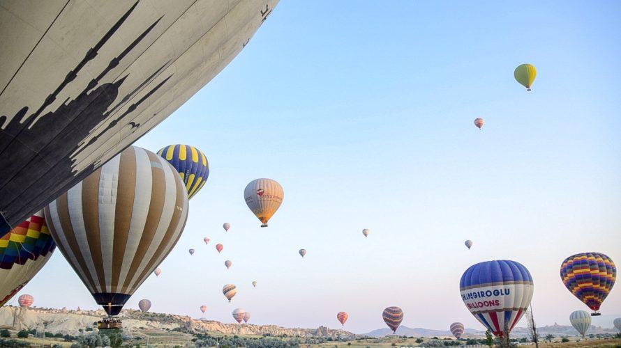 【DAY179・トルコ】カッパドキアの空一面の気球に感動&グリーンツアーに参加