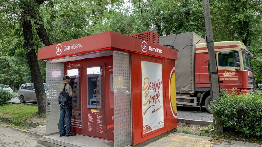 【DAY154・キルギス】ボコンバエバからビシュケクへ乗り合いバスで移動