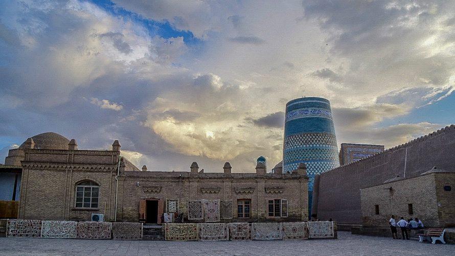 【DAY163・ウズベキスタン】ウルゲンチからヒヴァヘ&ヒヴァ散歩