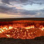 【DAY164・トルクメニスタン】ついに独裁国家トルクメニスタン入国そして地獄の門へ!!