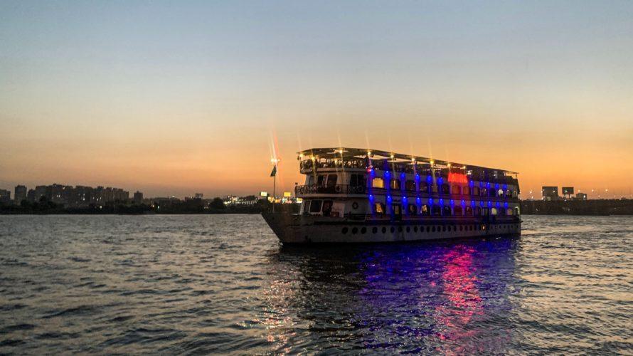 【DAY187・エジプト】ナイル川ディナークルーズ🛳アラビアの夜を満喫!