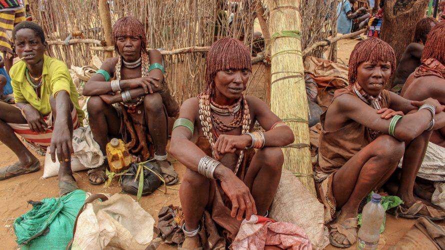 【DAY194・エチオピア】少数民族ツアー2日目(ハマル族)