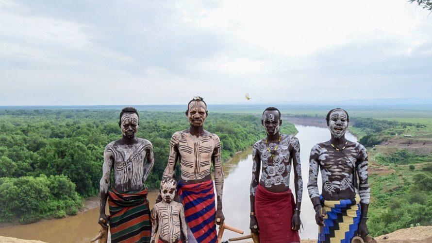 【DAY195・エチオピア】少数民族ツアー3日目(カロ族)