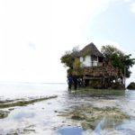 【DAY201・タンザニア】ザンジバル島の海に浮かぶレストラン「ザ・ロック」へ