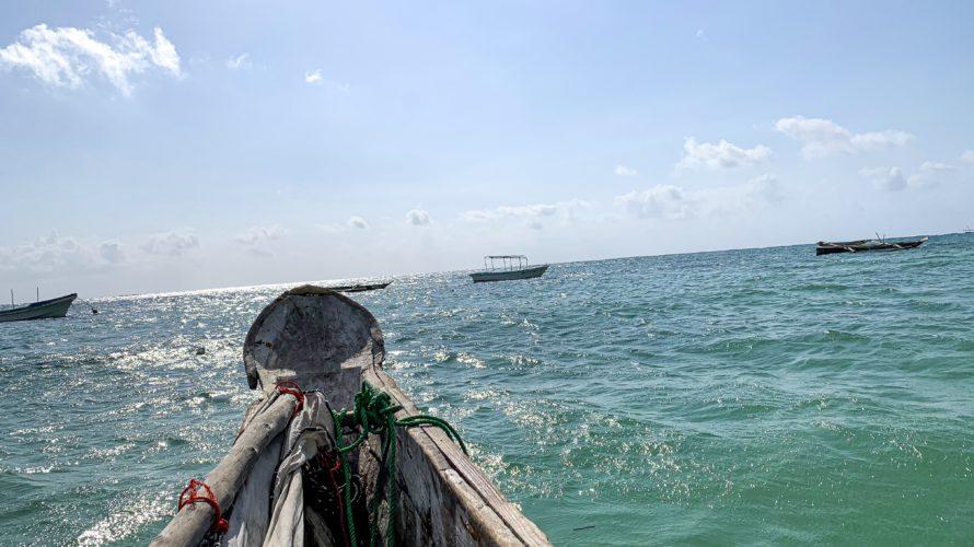 【DAY203・タンザニア】ザンジバル島の「ブルーラグーン」でシュノーケリング🐠