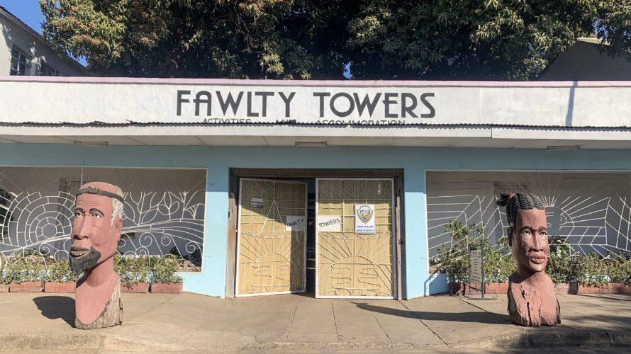 【DAY213・ザンビア】ルサカからリビングストンへ🚌人気宿「 Fawlty Towers」に宿泊!