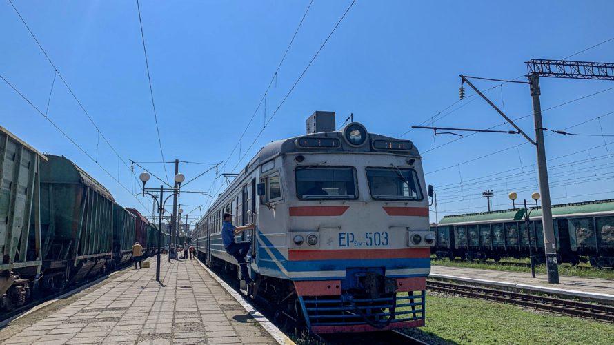 【DAY245・ウクライナ】リヴネから世界遺産の街リヴィウへ🚆