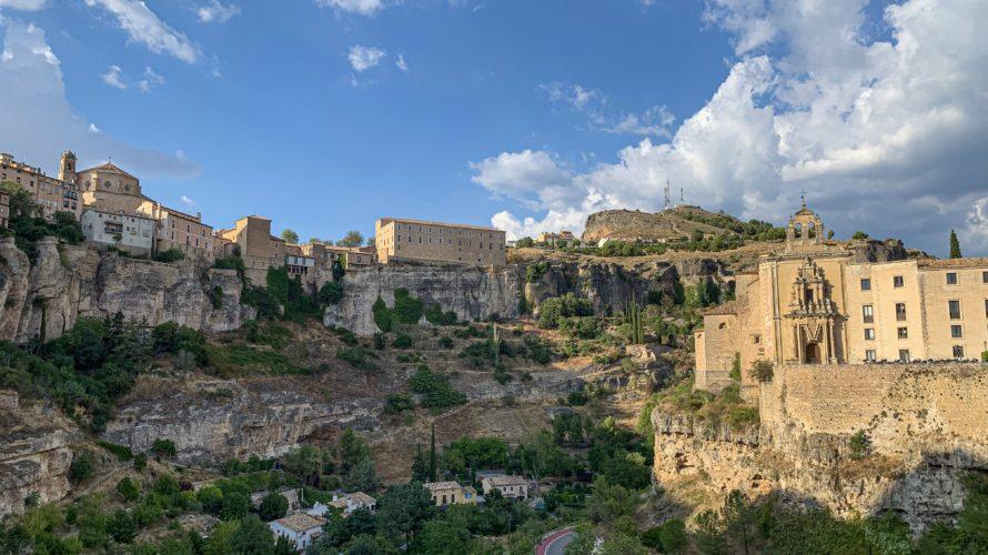 【DAY253・スペイン】ブニョールから世界遺産の街「クエンカ」へ🚃街は絶景だらけ!!