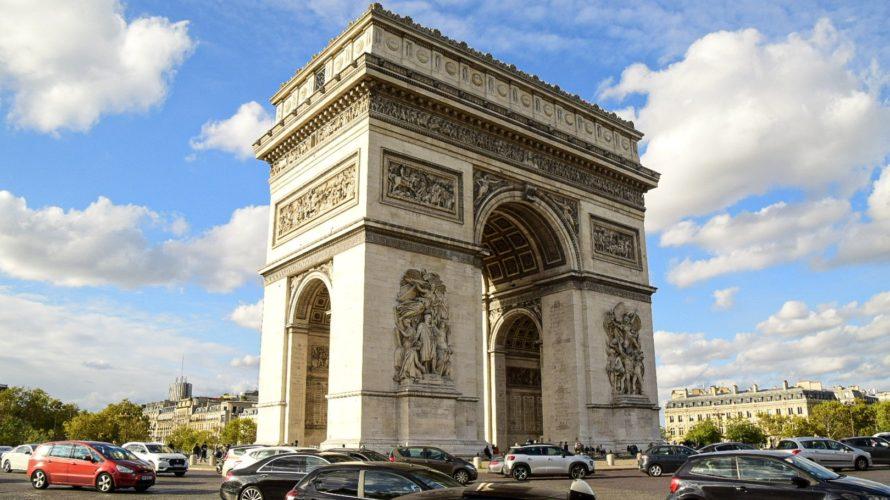 【DAY292・フランス】パリを王道観光🗼エッフェル塔に凱旋門に・・・