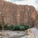 【DAY276・モロッコ】圧巻の岩壁「トドラ渓谷」🏔宿の日本食が美味い!!