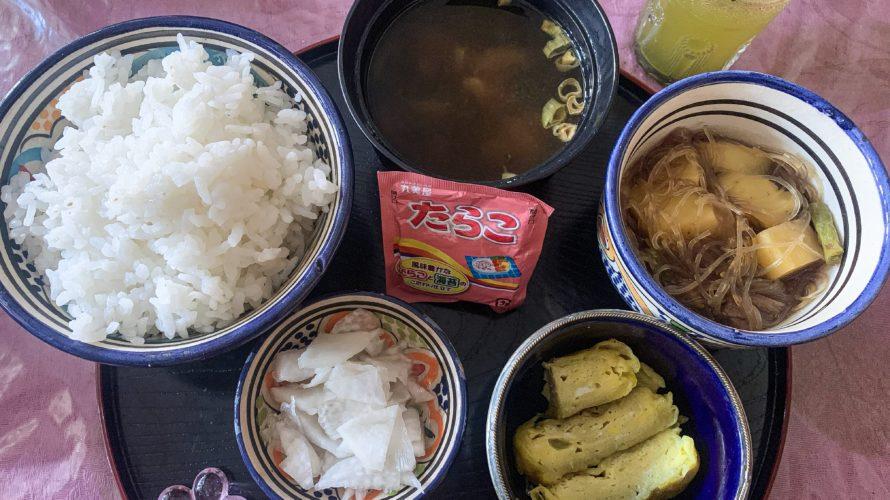 【DAY277・モロッコ】トドラ渓谷の日本人宿「ゲストハウスアーモンド」の日本食を紹介🍱