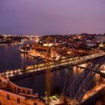 【DAY288・ポルトガル】ドン・ルイス1世橋のサンセットからの夜景が絶景🌉