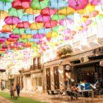 【DAY283・ポルトガル】リスボンからアゲダへ🚇絶景のアゲダの傘祭りへ⛱