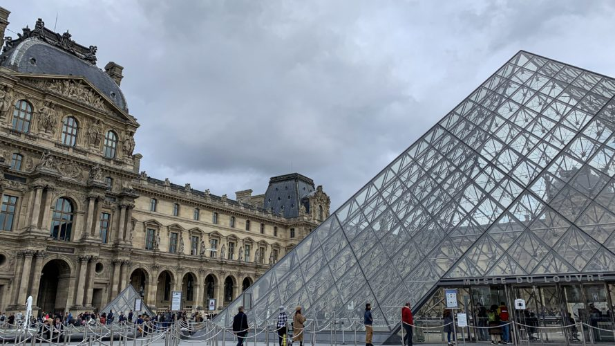 【DAY290・フランス】パリのルーブル美術館&一夜限りの「ニュイ・ブランシュ2019」へ🇫🇷