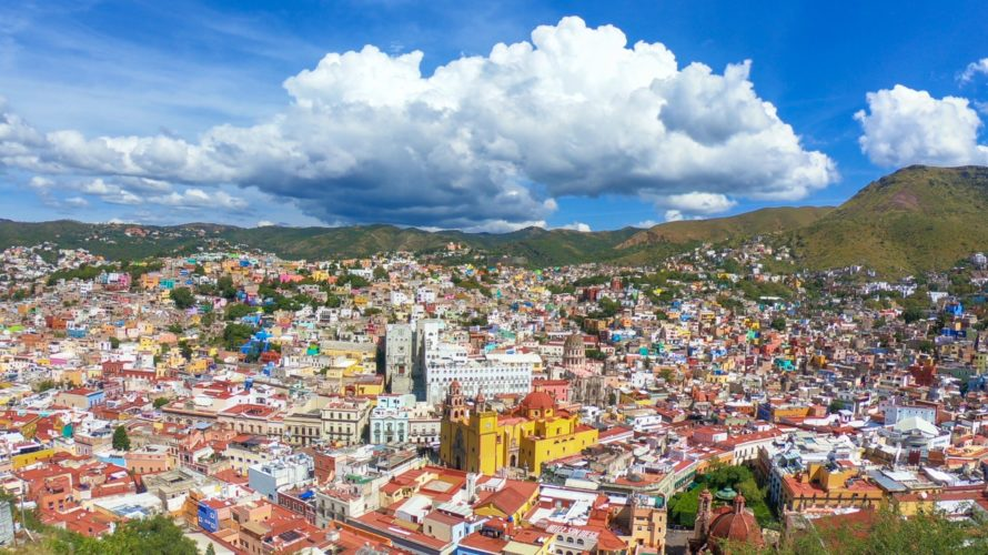 【DAY320・メキシコ】世界遺産の街「グアナファト」!ピピラの丘で見るカラフルな街並みは絶景💎